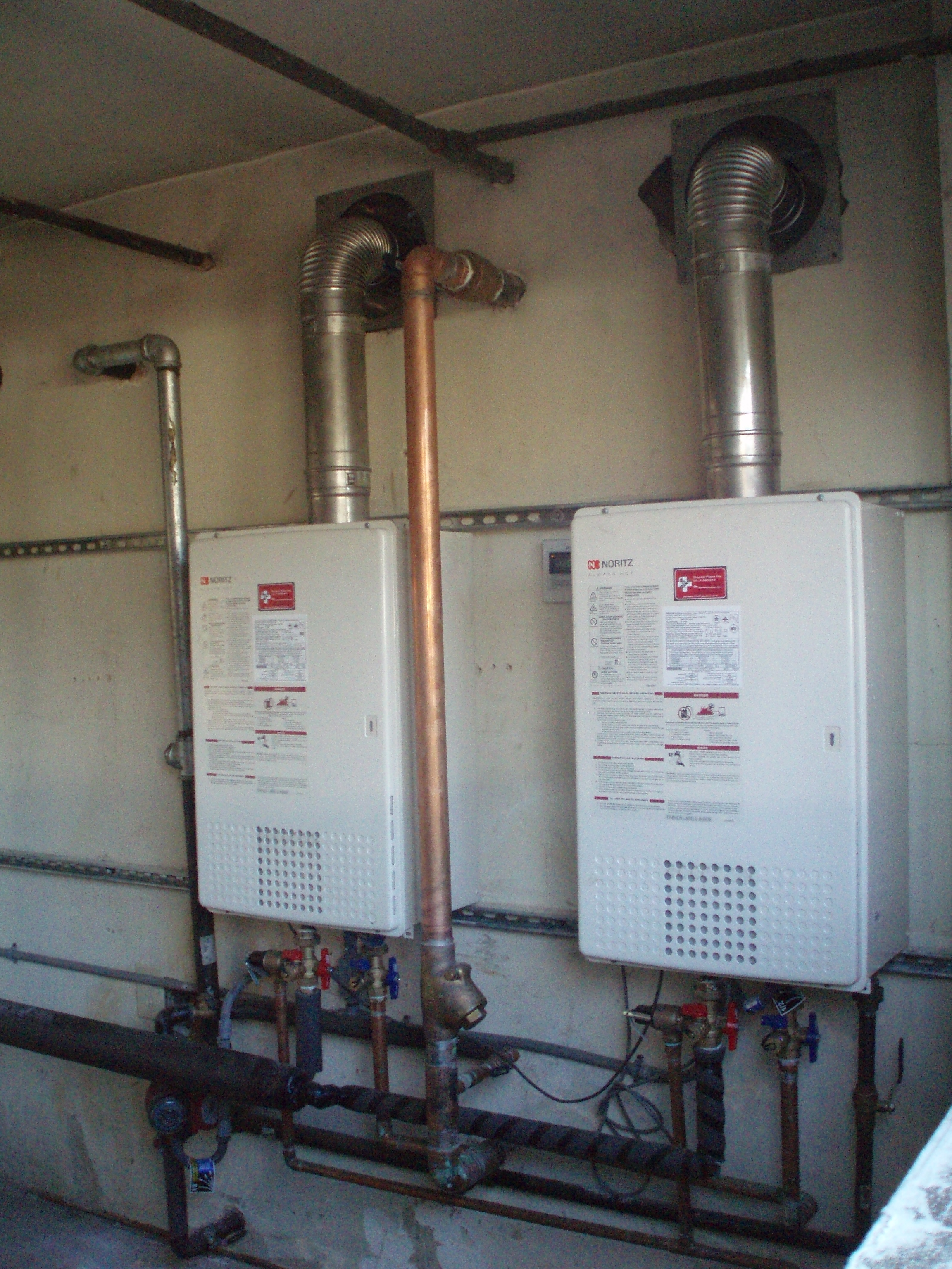 get a tankless water heater installed in your home - Tankless Water Heater Installation