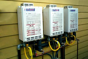 Installation Tankless Water Heater Residential