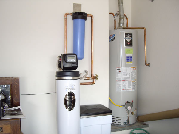 Filter van water house system
